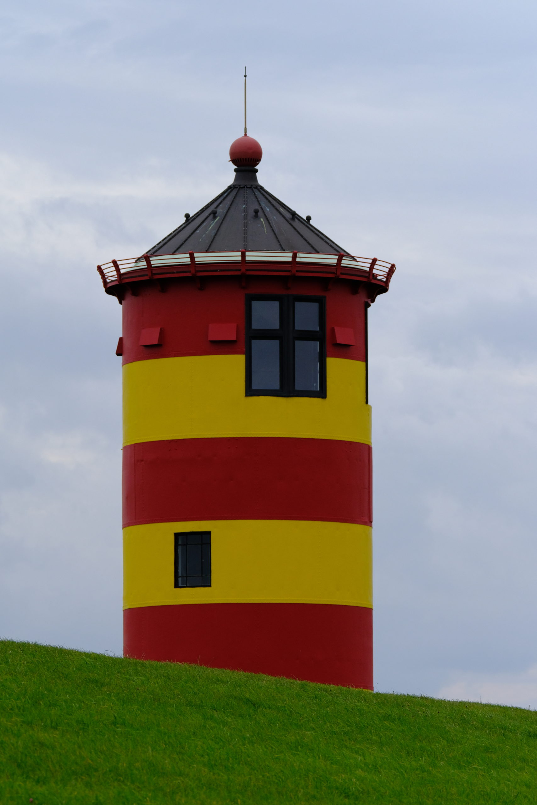 Leuchtturm Pilsum (Otto) im August 2020
